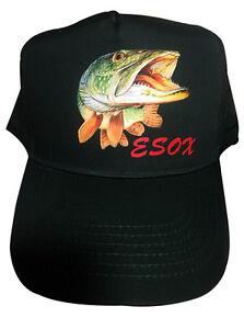 Pike Fishing Hat baseball  Cap