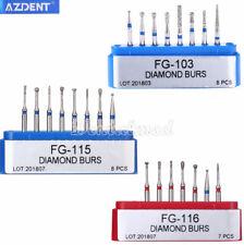 Dental Diamond Burs Fg 103 115 Fg116 Minimally Invasive Cavity Preparation Kit