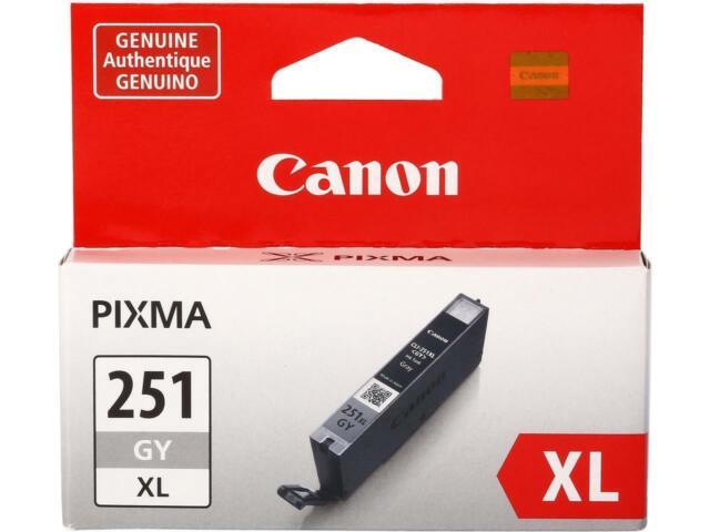 Canon CLI-251 XL High Yield Ink Cartridge - Gray