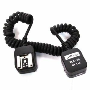 Metz-TCC-10-TTL-Cable-for-Canon-Camera-to-Flashgun-New-unopened-UK-stock