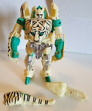 Hasbro Kenner Beast Wars Transformers Tigatron White Tiger 100% Complete