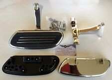 Harley FLTRX Street Glide style Streamline Passenger Floorboard Footboards Kit