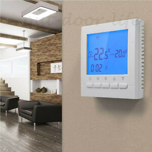 wifi digital funk thermostat fu bodenheizung lcd. Black Bedroom Furniture Sets. Home Design Ideas