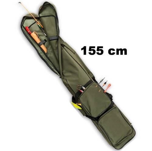 RUTENTASCHE 155 cm Futteral Rutenfutteral Angeltasche wasserabweisend ü5ü029