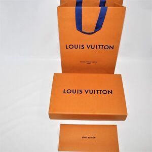 d5e558a6e28d Louis Vuitton Empty Magnetic Purse Box Gift Set Paper Bag R Holder ...