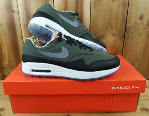 Nike-Air-Max-1-Golf-NRG-Cargo-Khaki-Herren-UK-10-Feinde-der-Kurs-cj9903-308
