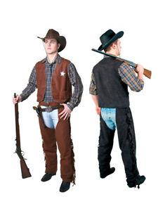 Cowboy Gilet per donna, Sceriffo Western Costume  </span>