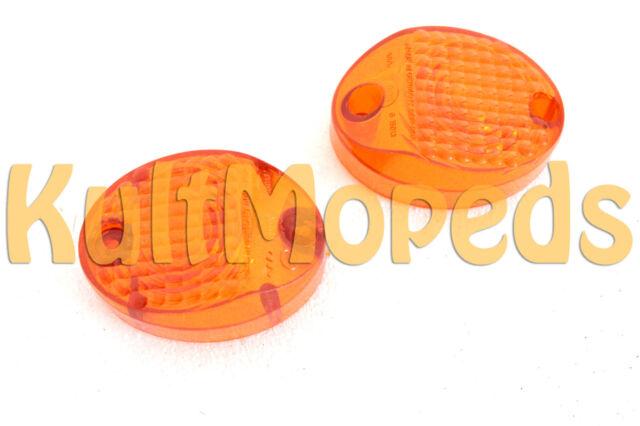 Originale Blinker Gläser Simson KR51 Schwalbe orange Star Habicht MZ ES 150 125