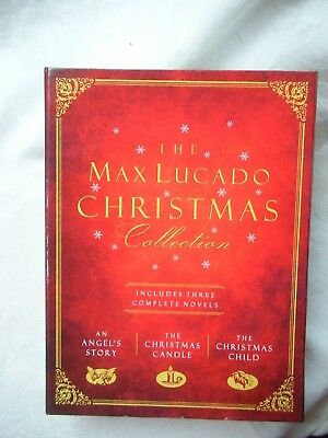 Max Lucado Christmas.The Max Lucado Christmas Collection An Angel S Story Christmas Candle Child 9781595548528 Ebay