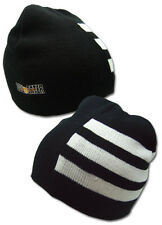 Soul Eater Death the Kid Hair Stripes Beanie Winter Hat *NEW*