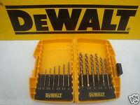 DEWALT DT7920 13PCE EXTREME 2  HSS G  METAL DRILL BIT SET IN TOUGH CASE