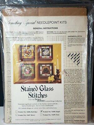 Vintage Completed Candamar Designs 30725 Needlepoint