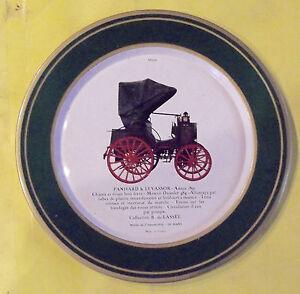 """ANCIENNE ASSIETTE PUBLICITAIRE MATIC AUTOMOBILE PANARD & LEVASSOR année 1891 - France - Commentaires du vendeur : """"PHOTOS ET DESCRIPTIF"""" - France"""
