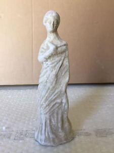 Riproduzione statua TERRACOTTA 20 cm ST59 scultura greco romano antica LEKYTHOS