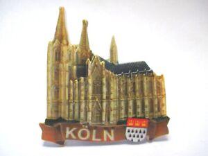 Cologne Cologne Dom 3d Poly Frigo Aimant Souvenir Germany (114)-afficher Le Titre D'origine