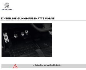 original peugeot expert 4 kastenwagen gummimatten. Black Bedroom Furniture Sets. Home Design Ideas