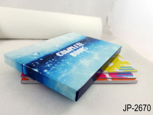 Genga Japanese Artbook Art Guide US Seller 3 Book Set Complete Books Free