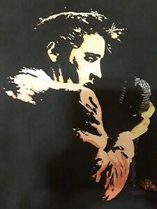 Vintage-Elvis-Presley-The-King-Pop-Rock-Tshirt-Shirt-Konzert-XL