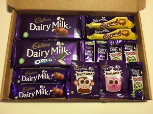 Milk Chocolate Hamper Gift Box Dairy Milk Cadbury Present Valentines