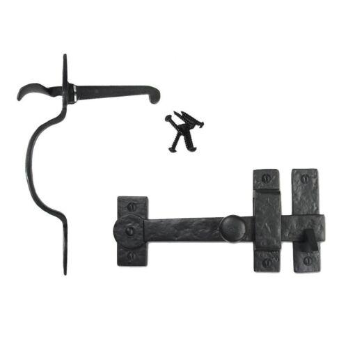 Cast Iron Spear Gate Kit Drop Bar /& Thumb Latch