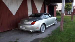 Lexus SC 430 convertible 2003! Une perle rare!