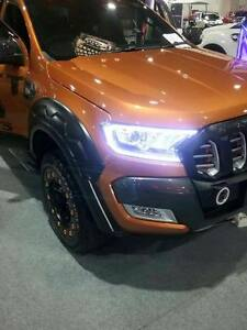 FORD-RANGER-PX-T6-FACELIFT-MK2-2015-2016-2017-WHITE-LED-HEAD-LIGHT-LAMP-COVER-18