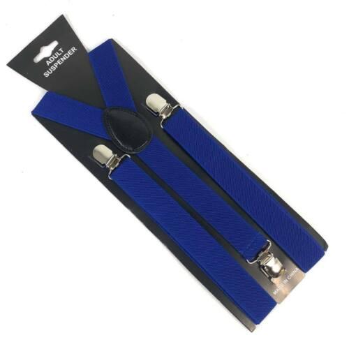 Mens /& Women Combo Suspender BowTie Royal Blue Color Wedding Accessories