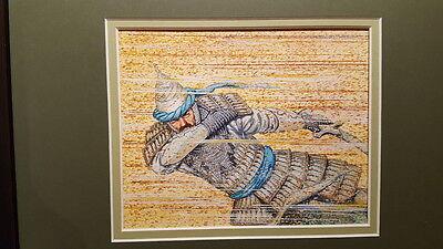 MTG Magic Original Magic Art Arabian Nights Sandstorm by Brian Snoody