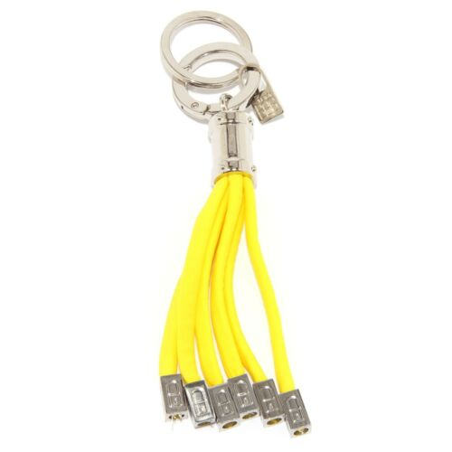 Details about  /0191U  portachiavi CHARM donna SAVE MY BAG POLIPO giallo yellow keyring