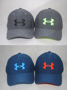 1d026f9b2ab New Under Armour Boys  UA Twist Closer Cap Stretch Fit Youth Golf ...