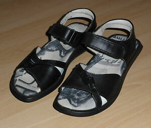 Details about Elefanten Shoes Sandals Gr.31 Leather Touch Fastener Black