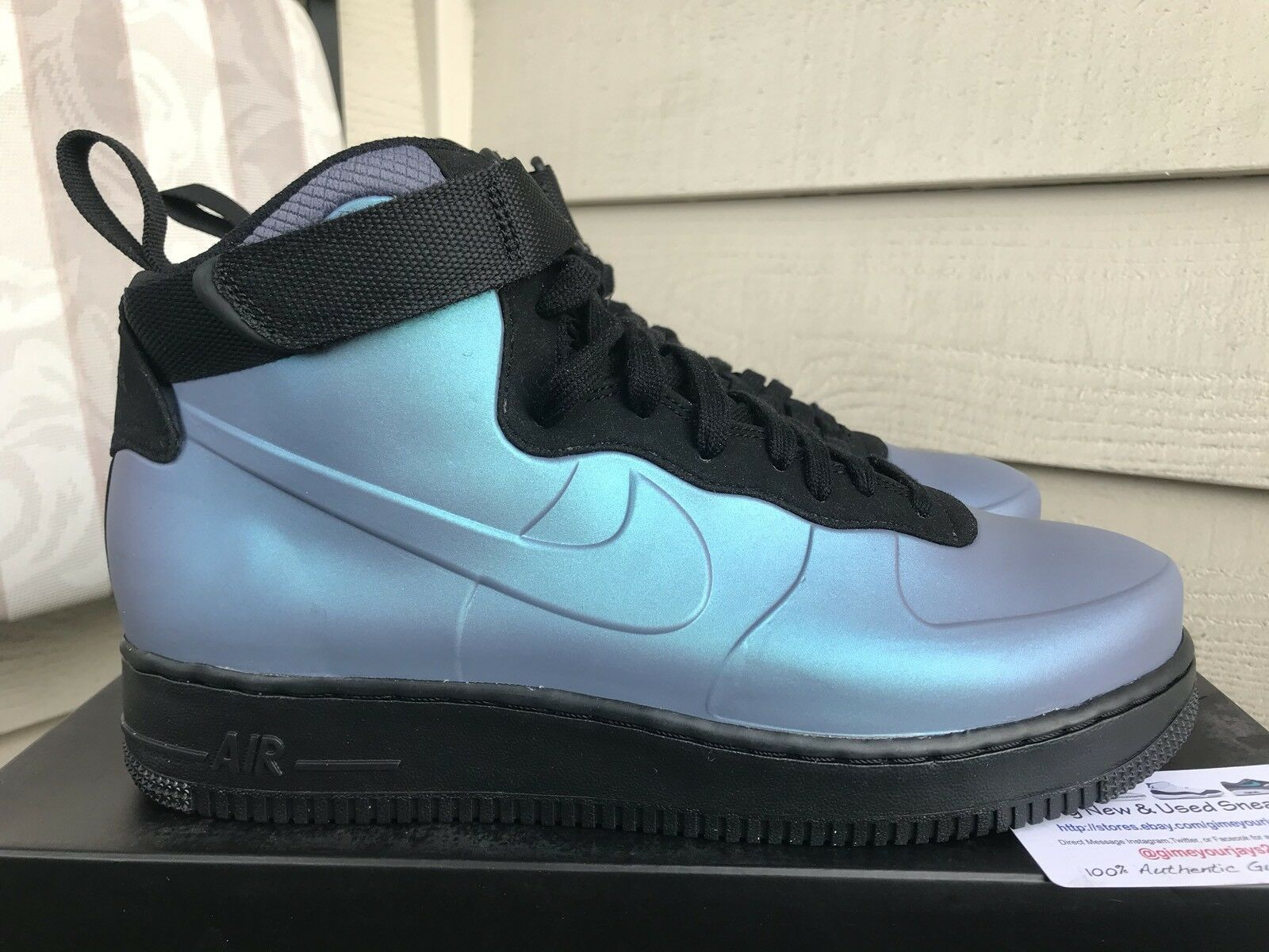 Nike Air Force 1 Foamposite Cup Light Carbon Comfortable The most popular shoes for men and women