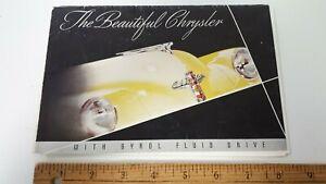1946-48-CHRYSLER-Original-Color-Dealer-Folder-Good-Condition-US