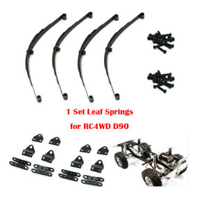 4Pcs-set-Steel-Leaf-Spring-Type-Suspension-for-1-10-4WD-D90-RC-Cars-Crawler
