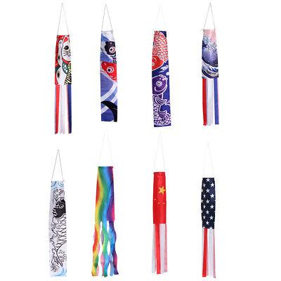 70cm japanische Karpfen Spray Windsack Streamer Fisch Flagge Koinobori KiteY CL