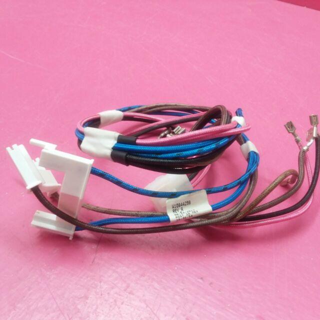 Whirlpool Range Control Board Wire Harness W10844298