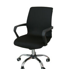 Black Seat Cover Office Computer Chair Slipcover eBay