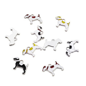 10pcs-Mixed-Enamel-Dog-Alloy-Pendants-Mini-Dangle-Charms-Craft-Jewelry-18x25mm