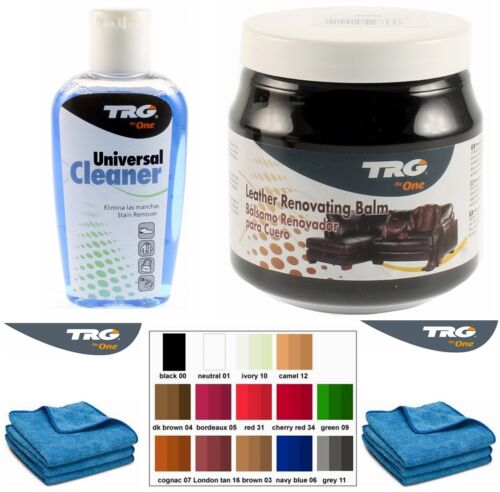 Trg Grison Black Leather Dye Colour Restorer Balm Car Bmw