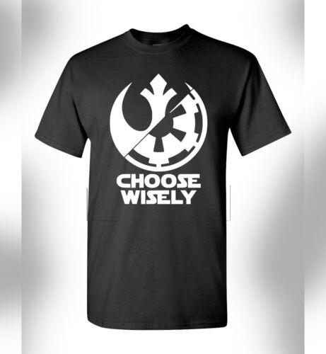 New Star Wars T-Shirt The Last Jedi Luke Skywalker Imperial Force Rebel Alliance