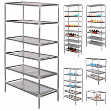 2/4/6/8/10 TIER SHOE STORAGE RACK ORGANISER CABINET SHELF from 3.55