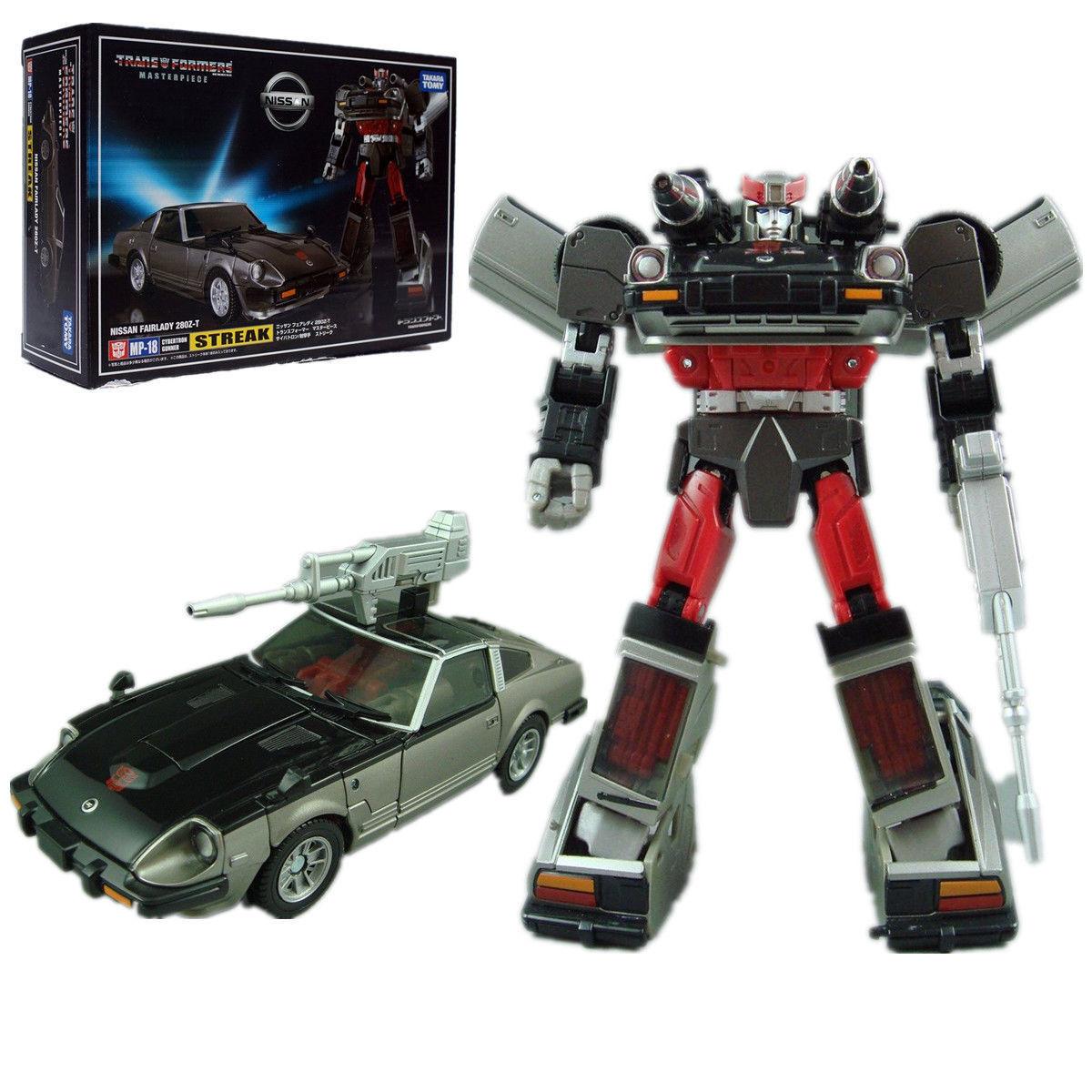 Transformers Masterpiece MP18 bluee Streak Nissan Fairlady Action Figures Car Toy