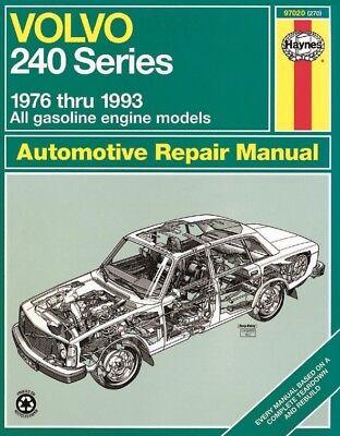 Volvo 240 Series 1976-1993 Haynes USA Workshop Manual