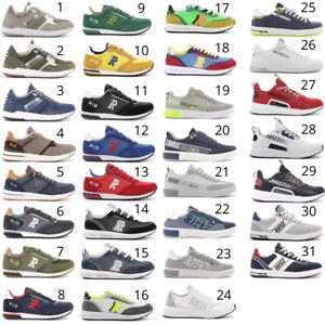 RIFLE-Sneakers-Uomo-comode-con-lacci-stile-Nike-Adidas-Reebok-Puma-Fila-Saucony