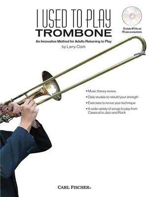 Brass Shop For Cheap I Used To Play Present Trombone Play Present Trombone Sheet Music Book & Cd Ample Supply And Prompt Delivery