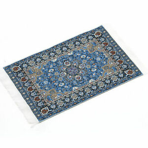 New Blue Starry Night Carpet 1//12 Dollhouse Miniature Toy House Decor