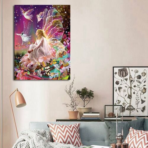 Fee Elf Königin 5D Diamant Malerei Diamond Painting DIY Kreuzstich Well cRUWK