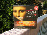 The Da Vinci Code Board Game Based On The Motion Picture & Factory Sealed