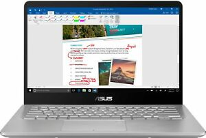 """ASUS - 2-in-1 14"""" Touch-Screen Laptop - Intel Core i5 - 8GB Memory - 1TB Hard..."""