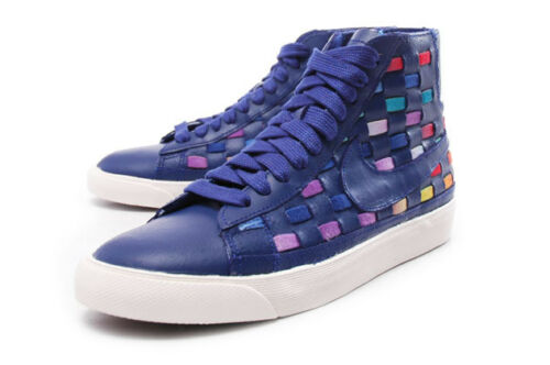Chaussures Uk Mid 5 Femme Marine 3 Woven Bleu Nouveau Blazer Nike rtrqB0